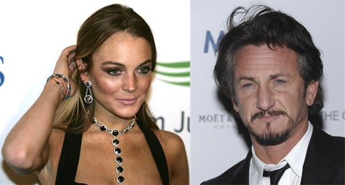 Lindsay Lohan & Sean Penn Spend The Night Together