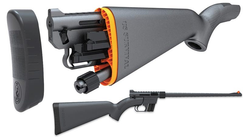 Hide an Entire Rifle Inside Its Waterproof Stock