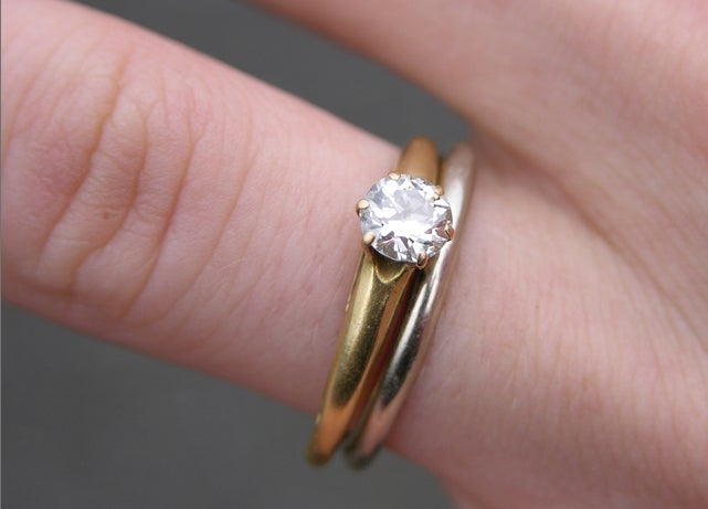 Pretty Soon, Your Gold Wedding Band Can Be Any Color You Want