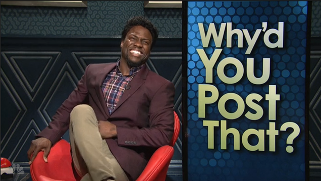 Kevin Hart and SNL Shame Terrible Instagramers With a Wall Dungeon