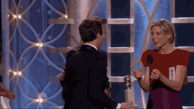 Andy Samberg Didn't Expect to Win an Award, and This Is What Happened