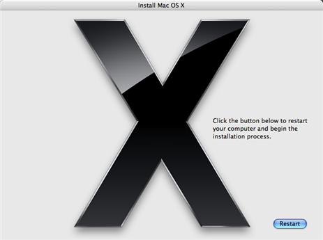 Upgrade Mac OS X to Leopard