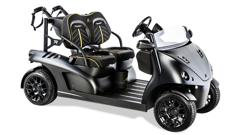If Batman Played Golf, This Is Probably What He'd Drive