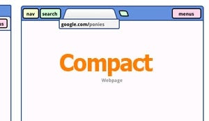 """Compact"" Design Could Eliminate Chrome's Address Bar"