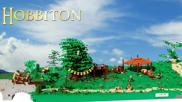 Take An Unexpected Journey To This Amazing Hobbiton Lego Set