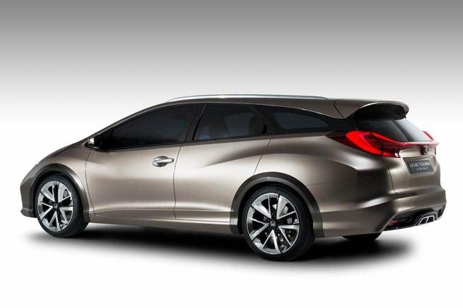 Honda Civic Tourer Concept Looks Just Like The Design Sketch