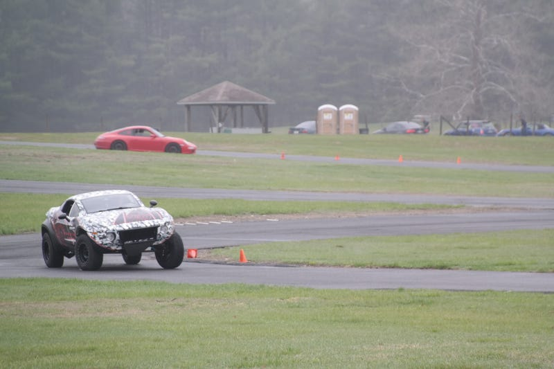 Autocrossing A Rally Fighter Is As Awesome As It Sounds