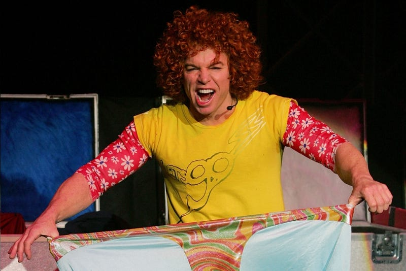 You Simply Must See Carrot Top at the Luxor, Reports National Newspaper