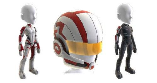 Mass Effect Dress-Ups For Your 360 Avatar