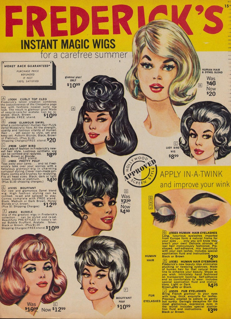 Let's Shop for 'Instant Magic' Wigs in 1966