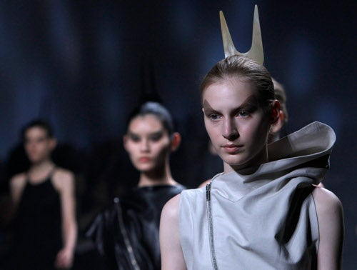 Rick Owens Show Is A Space Oddity