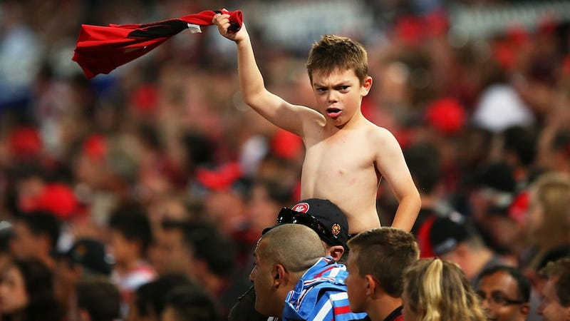 Young Soccer Fan Reps His City By Making Like A Helicopter