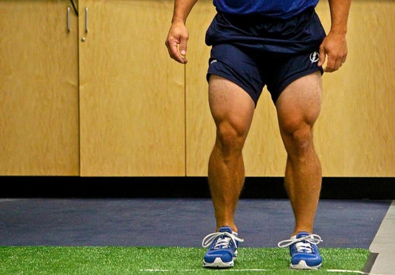 Martin St. Louis Does Not Skip Leg Day