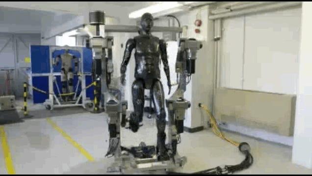 This Robot Is A Crash Test Dummy For HAZMAT Suits