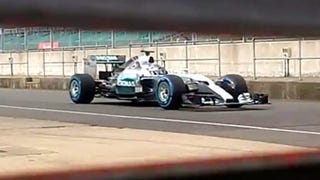 Mercedes Shows Off 'Spy' Videos Of New F1 Car That They Shot Themselves
