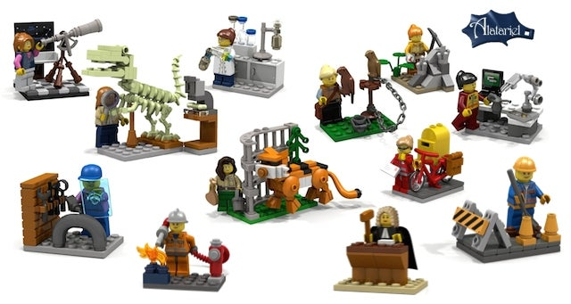 Women in Science Are Coming to Lego This Summer