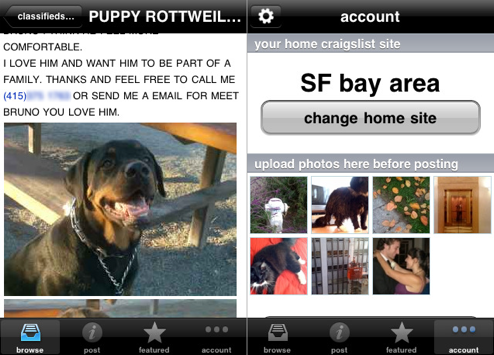 Craigsphone Brings a Better Craigslist to Your iPhone