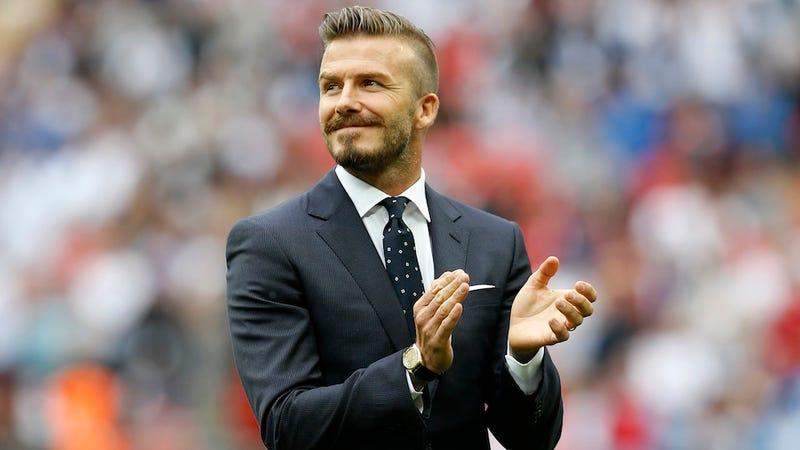 David Beckham Cut From Olympic Team