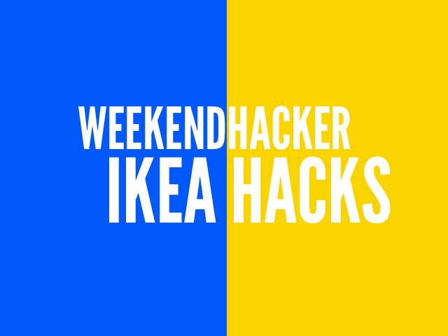 Hack Your Way Through the IKEA Catalog This Weekend