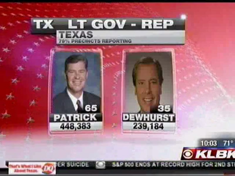 Congratulations To Dan Patrick, GOP Nominee For Lieutenant Governor