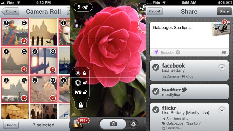 Camera+ 3.0 for iPhone Snaps Prettier Photos and Makes Sharing Easier