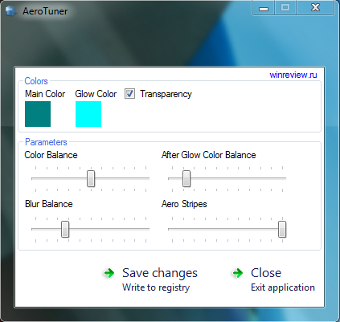 AeroTuner Adds More Customization Options to the Windows 7 Aero UI