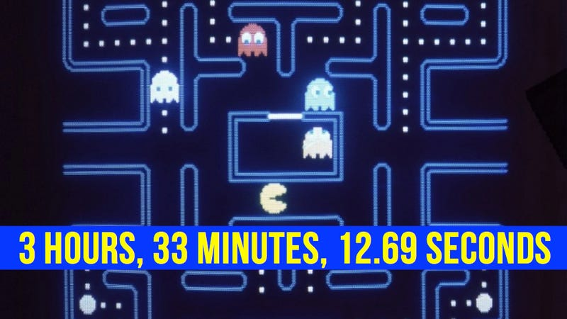 You Cannot Top the New Pac-Man World Record