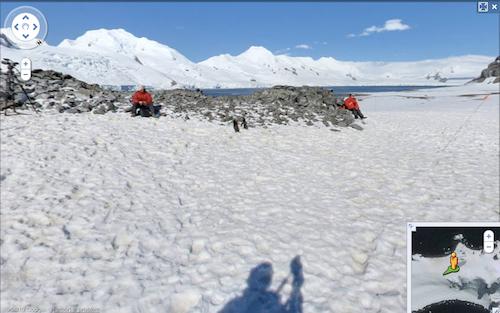 Google Street View Invades Antarctica