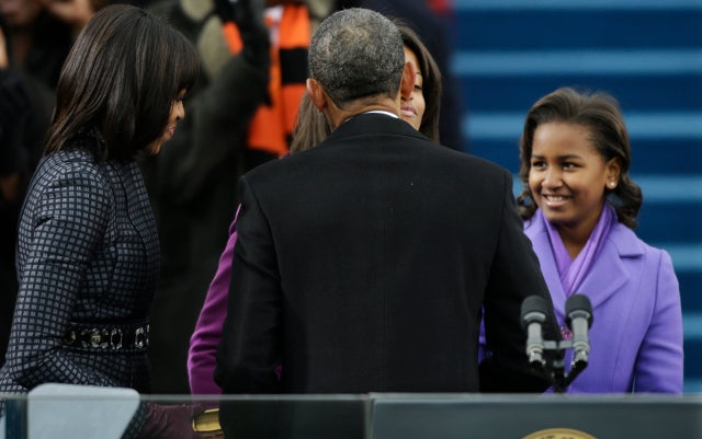 Sasha Obama Got A Little Bored During Her Dad's Speech and Let Out a Big Yawn