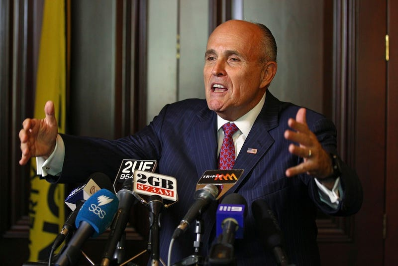 Rudy Giuliani is Just Like That Guy who Never Leaves Your High School