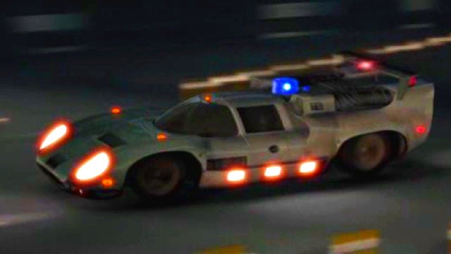 What's the most awesome futuristic movie car?