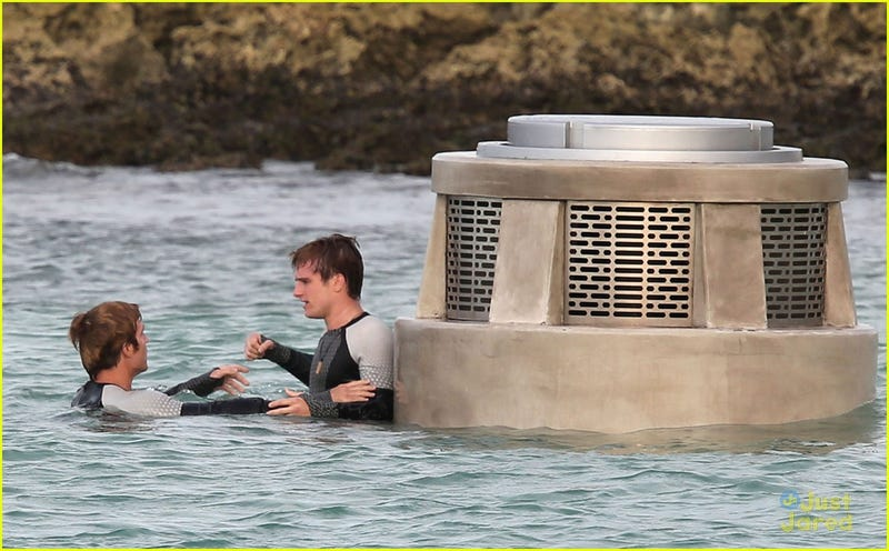 Check out the futuristic new Tribute uniforms from the Catching Fire set