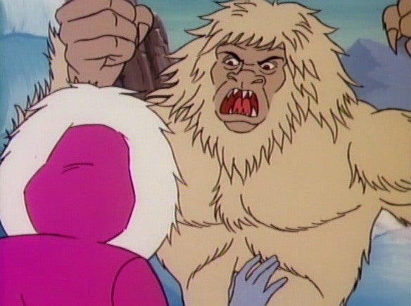 Jem's adventure with the Yeti and the magic bongos was truly outrageous