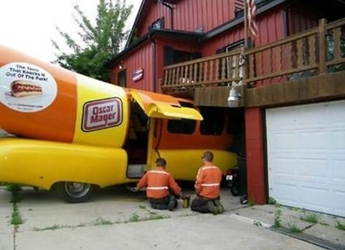 Open Caption: Yep, That's An Oscar Mayer Wiener