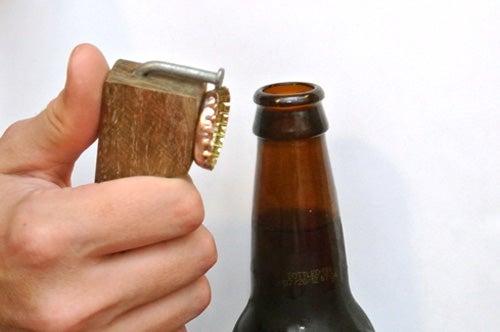DIY Wooden Bottle Opener