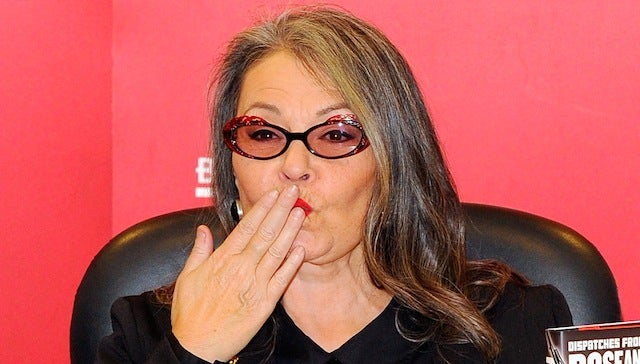 Roseanne Barr is Running for President, Wants to Legalize Pot and 'Outlaw Bullshit'
