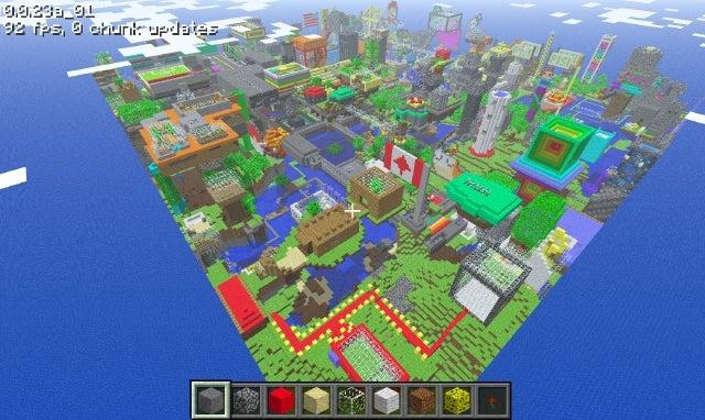 ярмарка игрушек Minecraft Skins