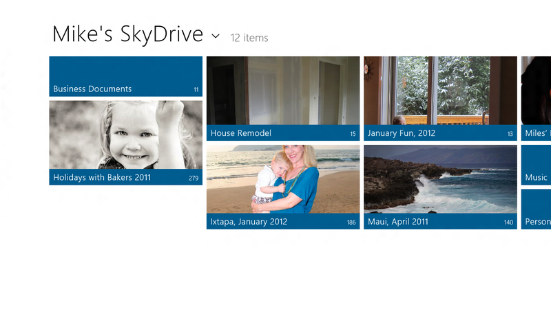 SkyDrive Gives Windows 8 More Cloud Powers than OS X