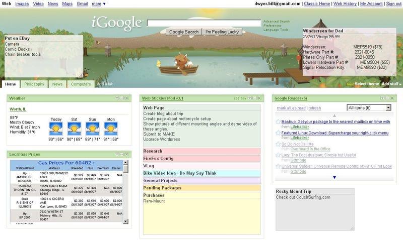 Show Us Your iGoogle