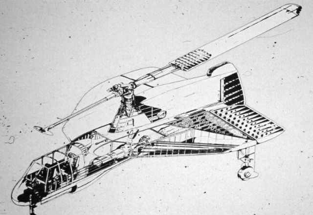 This Wacky Sci-Fi Plane-Helicopter Hybrid Was Totally Almost a Thing