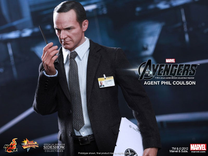 The Avengers' Agent Phil Coulson, Yours to Own And Hold And Do...Whatever