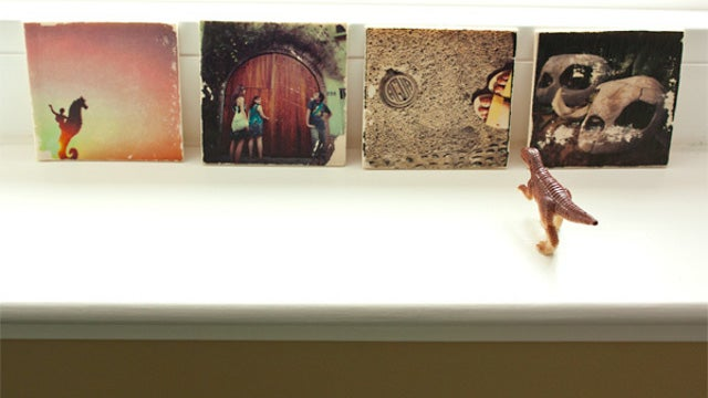 Transfer a Photo Onto Wood with a Few Items