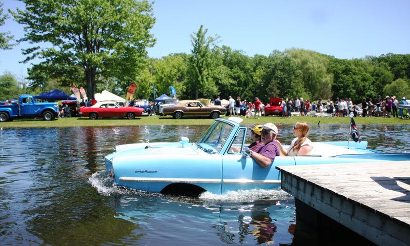 Canada's Biggest Car Show Has George Barris, Amphicar Rides, Million Mustangs