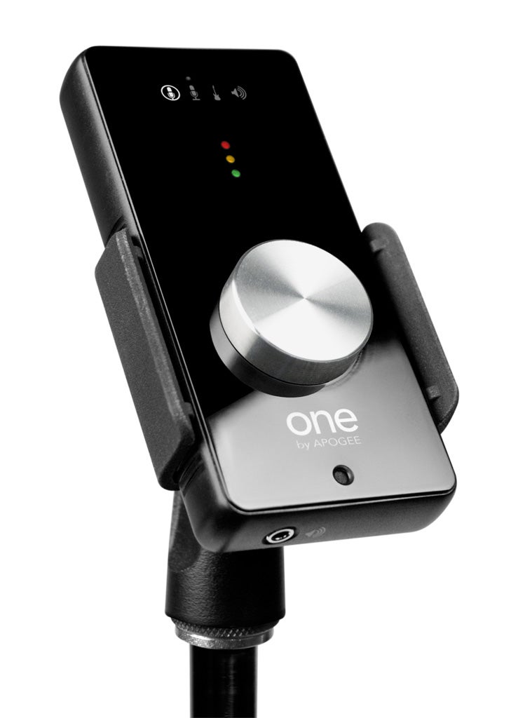 Apogee ONE Mac Audio Interface Has Built-In Mic, So You Sing Right Into It