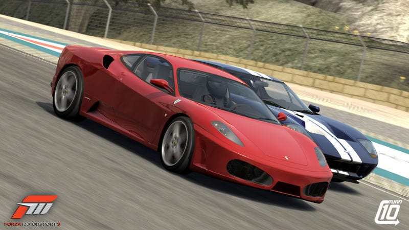New Forza Screen Shots Shows A Super Car Tango
