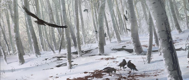 It's a Dark, Lonely Frontier In Assassin's Creed III