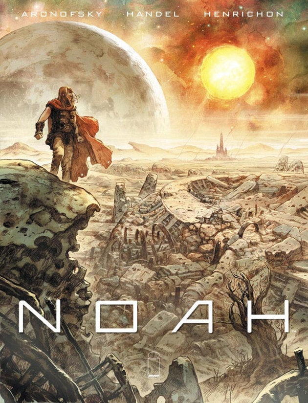 Darren Aronofsky's graphic novel gives Noah a total Thor makeover