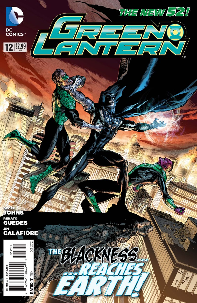 A first look at next week's issue of Green Lantern