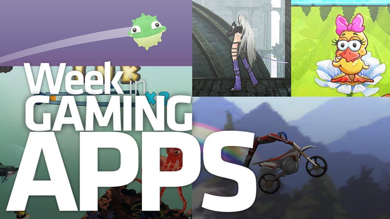 It's Better Down Where It's Wetter, Take It From a Week of Gaming Apps