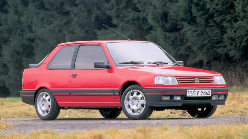 80's Monday : The Other Peugeot GTi